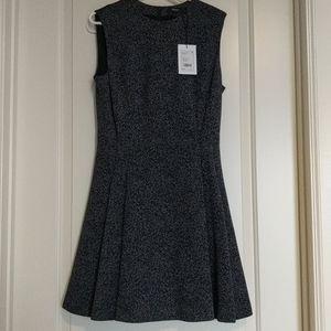 NWT Theory Navy Knit Flare Dress